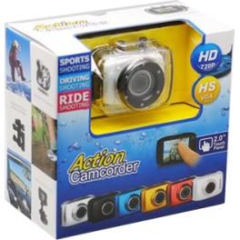 Câmera Digital Action Camcorder Sports A Prova D`água